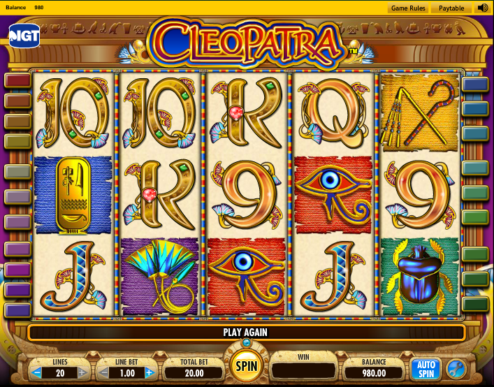 slot machine cleopatra online