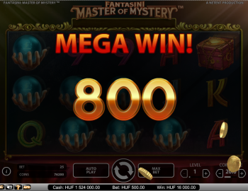 Fantasini Master of Mystery – Mega Win