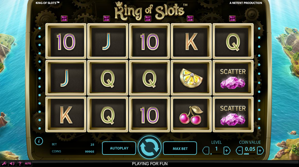Kings & Queens 3 Lines Slots - Play Online for Free