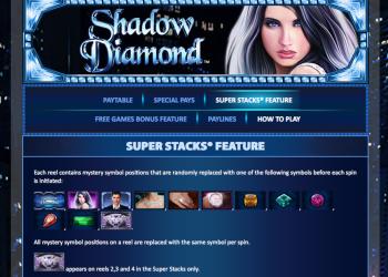 Shadow Diamond – Super Stacks