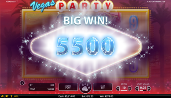 Vegas Party Slot – Big Win