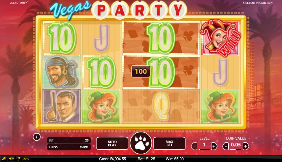 Play Vegas Party Slot Free - Slotorama