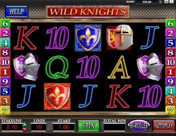 Wild Knights Slot – Game Play