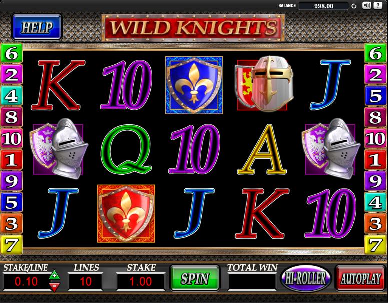 Wild knights slot online