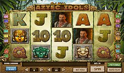 Play Aztec Idols Slot