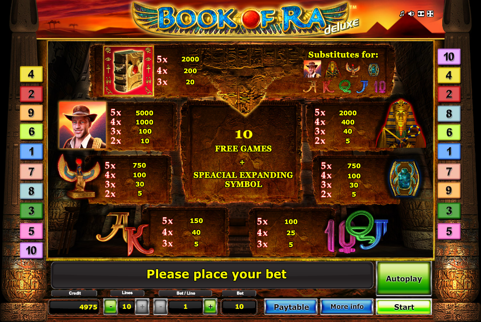 book of ra video slots 2019
