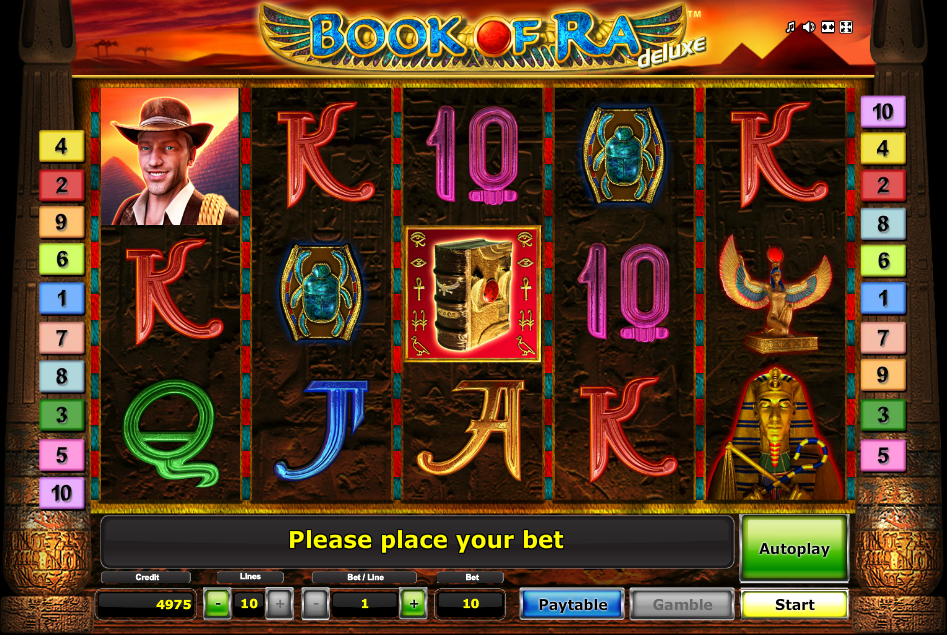 Book Of Ra Deluxe Slot Games