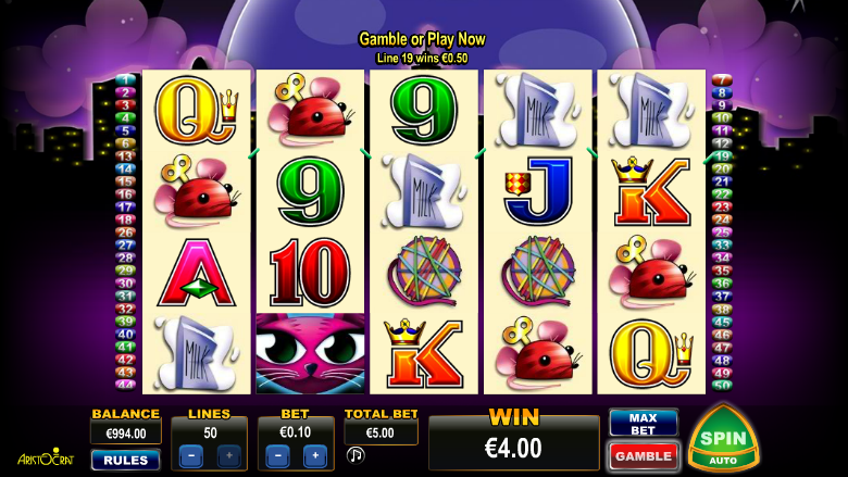 miss kitty video slots