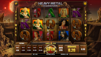Heavy Metal Warriors – Gameplay