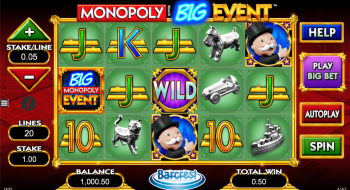 Monopoly Big Event – Gameplay