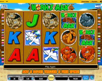 Noahs Ark Slot Machine Online