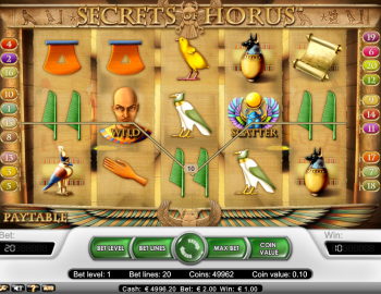 Secrets of Horus – Gameplay