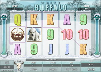 White Buffalo Slot – Gameplay