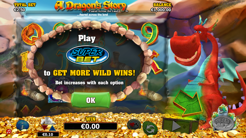 Spiele A Dragons Story - Video Slots Online