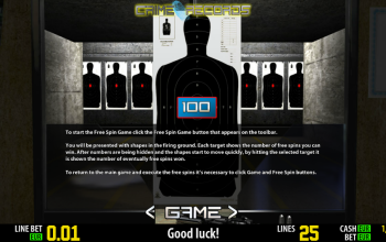Crime Records – Paytable Bonus Game