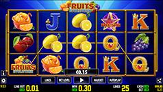 Fruits Evolution Slot