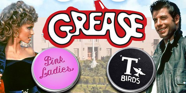 Grease Pink Ladies And T Birds