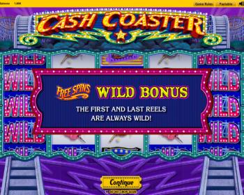 Cash Coaster – Free Spins Wild Bonus