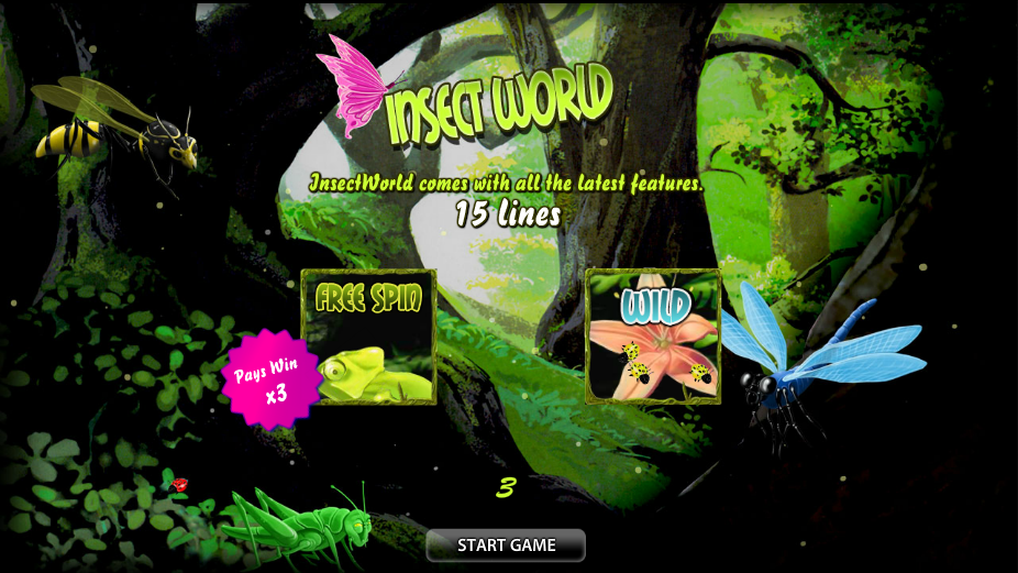 Spiele Insect World - Video Slots Online