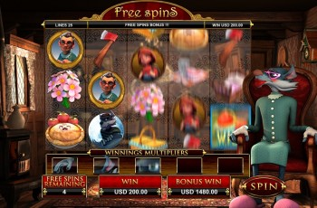 Little Red – Free Spins