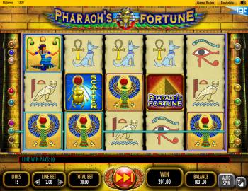 Pharaohs Fortune – Gamplay