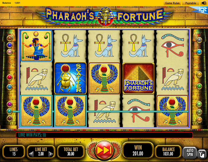 Secret of the Pharaohs Chamber Slots - Play for Free Now