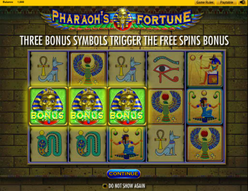 Pharaohs Fortune – Intro 1