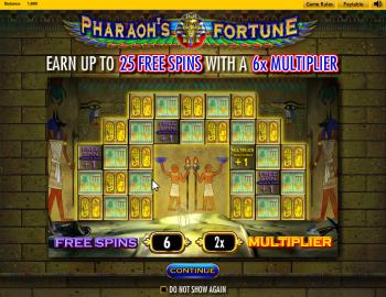 Pharaohs Fortune – Intro 2