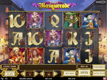 Royal Masquerade – Gameplay