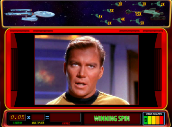 Star Trek Red Alert – Feature Winning Spin