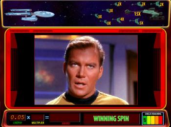Star Trek Red Alert – Feature Winning Spin