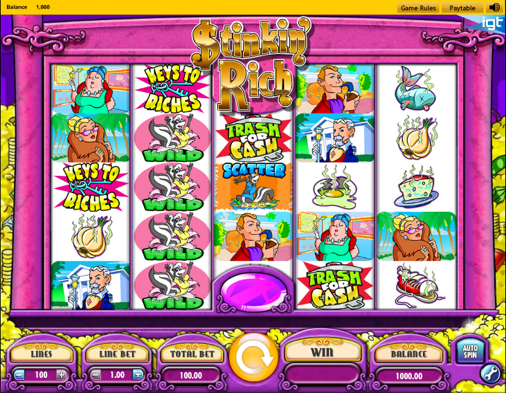 Play Stinkin Rich Slot Online - Slotorama
