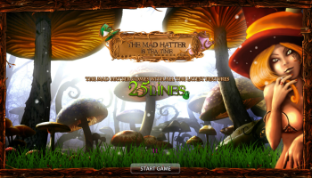 The Mad Hatter – Intro Screen