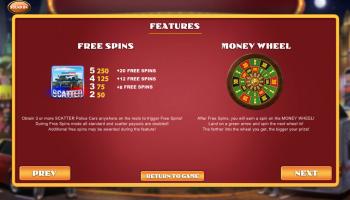 Weekend in Vegas – Paytable 2