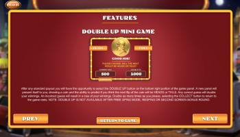 Weekend in Vegas – Paytable 4
