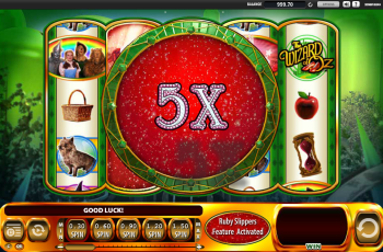 Wizard of Oz – 5x Multiplier