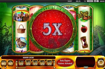 Wizard of Oz – 5x Multiplier