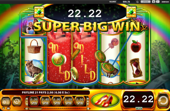 Wizard of Oz – Super Big Win