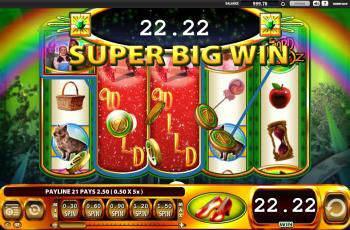 Wizard of Oz – Super Big Win
