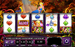 Alice And The Mad Tea Party Free Slots