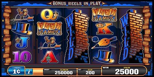 chimney stacks slot machine