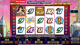 Wonder Woman Jackpots Slot - Try Playing Online for Free