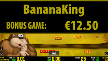 Banana King – Bonus Win