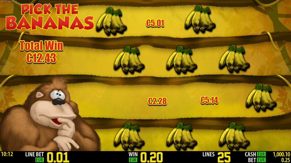 Banana King Game