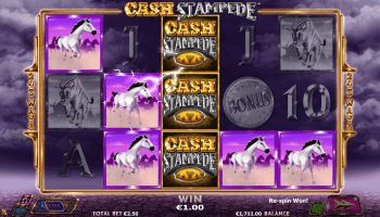 Cash Stampede – Sticky Wilds