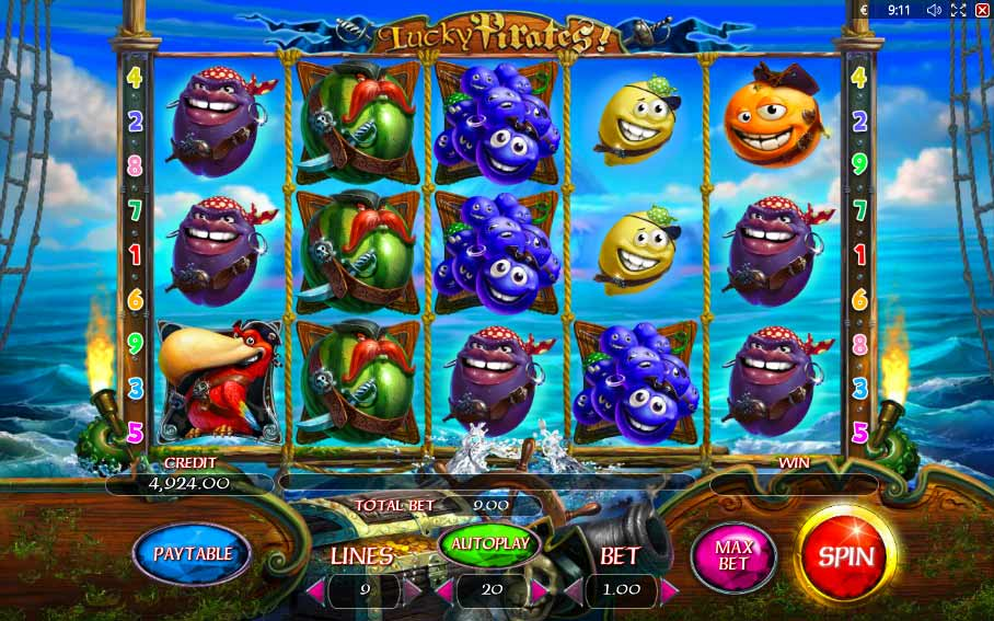 Lucky Pirates Slots - Play the Online Slot for Free