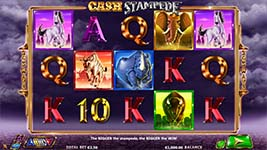 Play Cash Stampede Slot Free