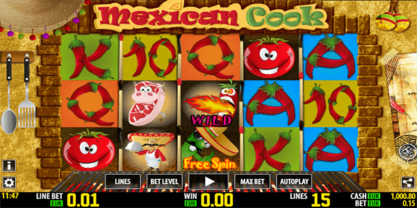 Spiele Mexican Cook - Video Slots Online
