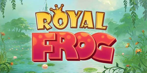 Play Royal Frog online slot at Casumo