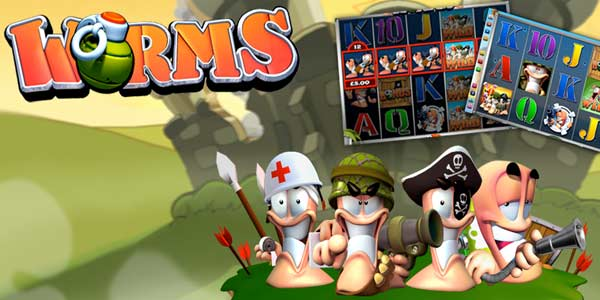 Play Worms Online Slot - Slotorama